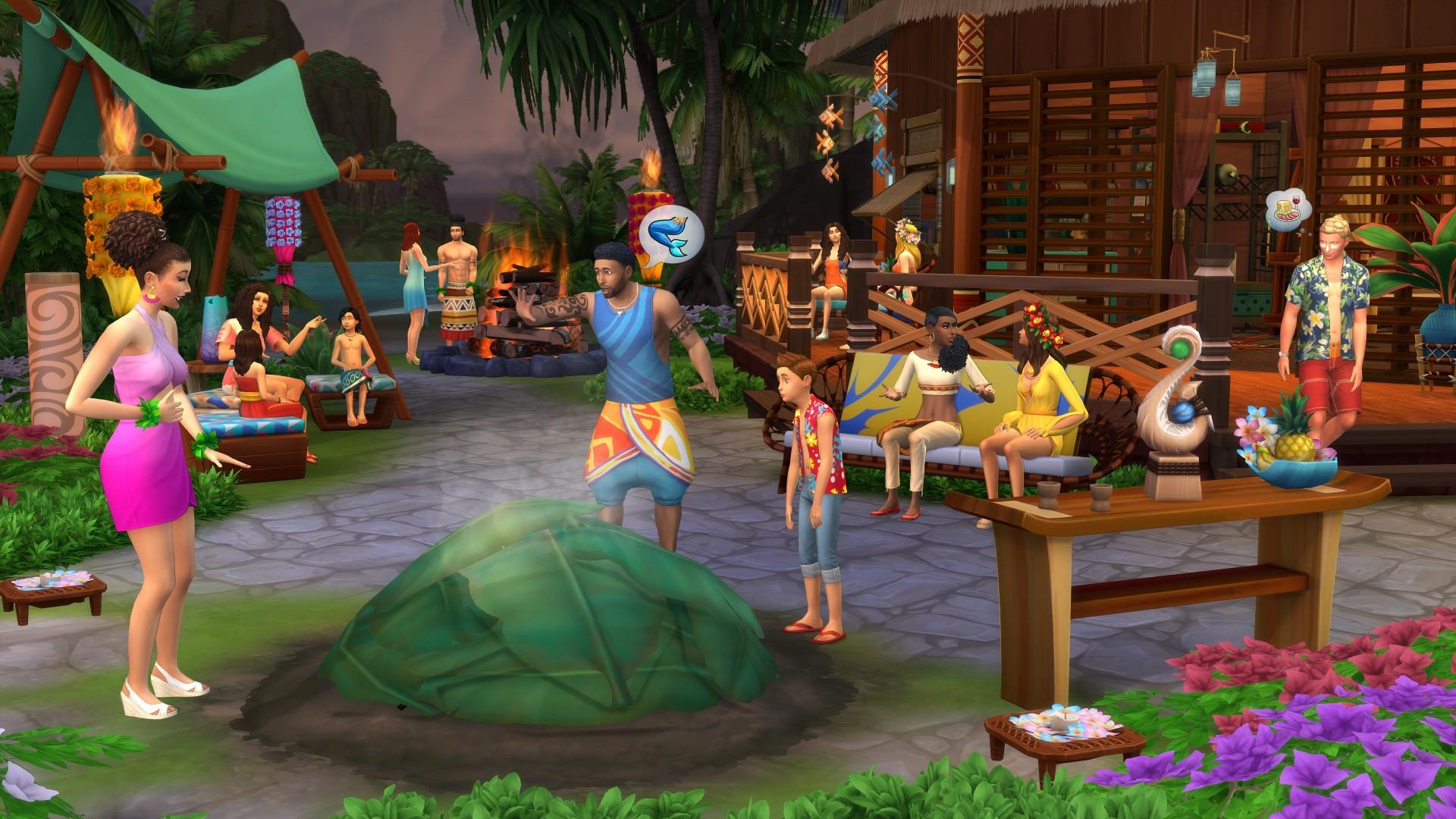 The Sims 4: Livet i tropene (PC)