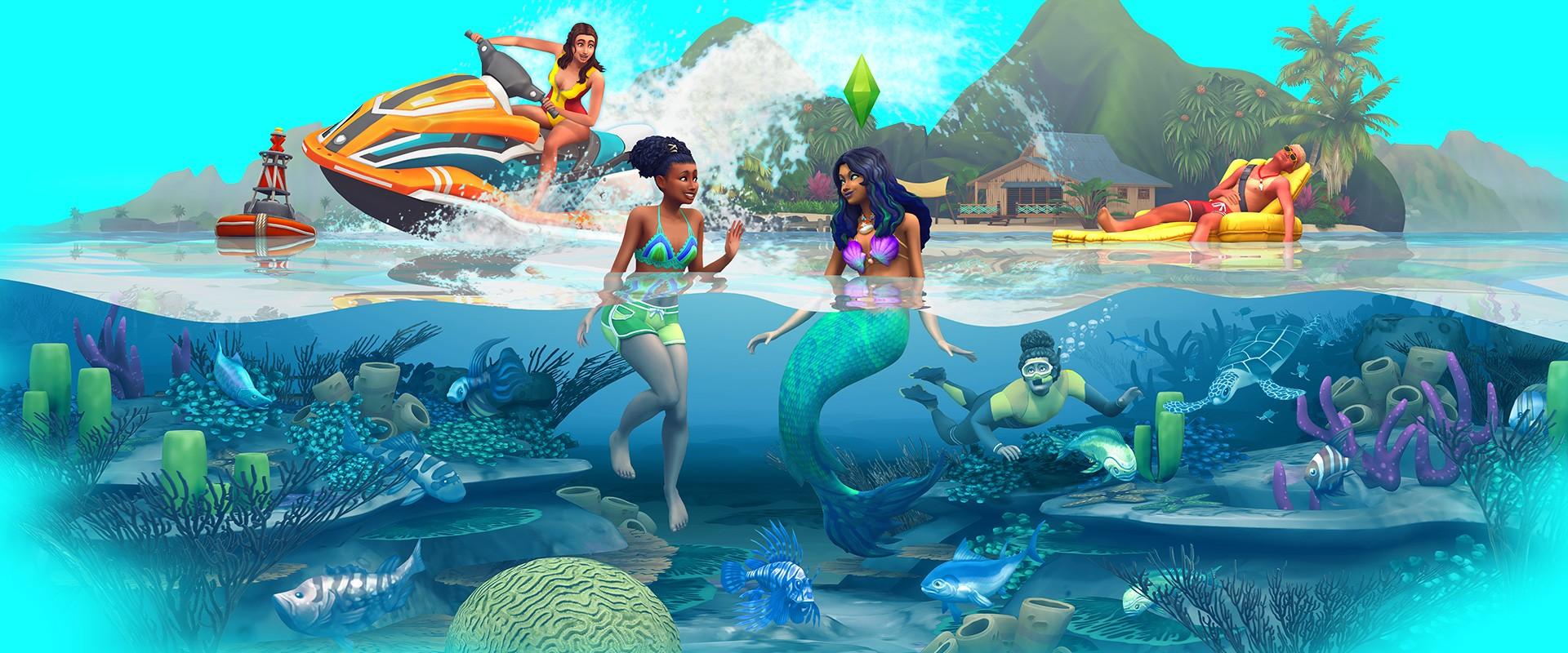 The Sims™ 4 Island Living for PC/Mac | Origin