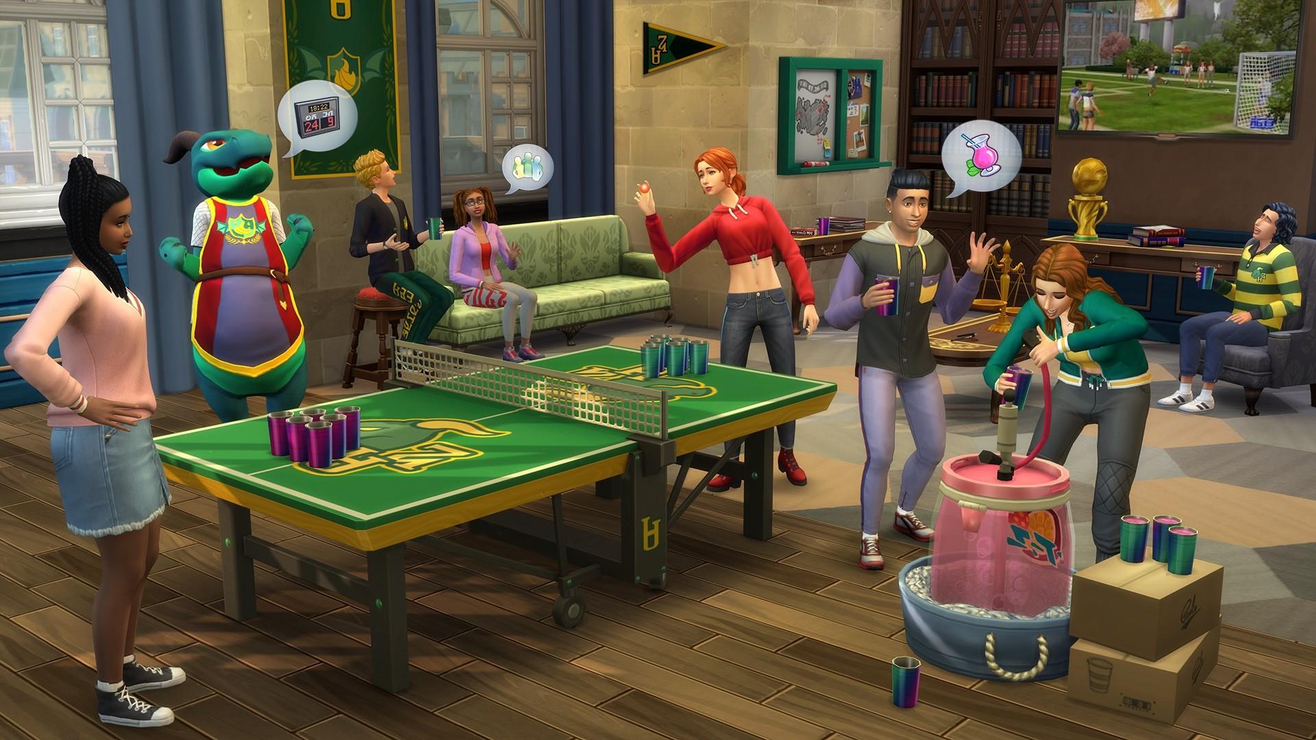 The Sims™ 4 Discover University สำหรับ PC/Mac | Origin