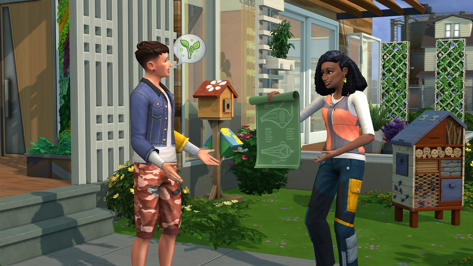 The Sims 4 Eco Lifestyle For Pc Mac Origin
