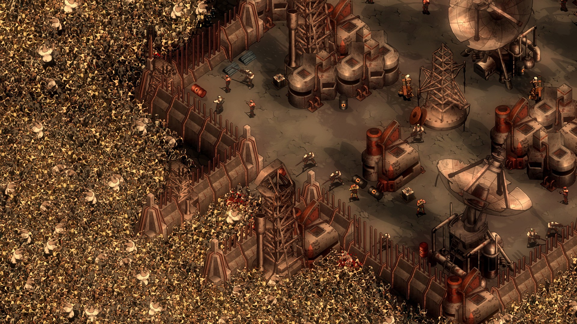 They Are Billions Tor Drehen
