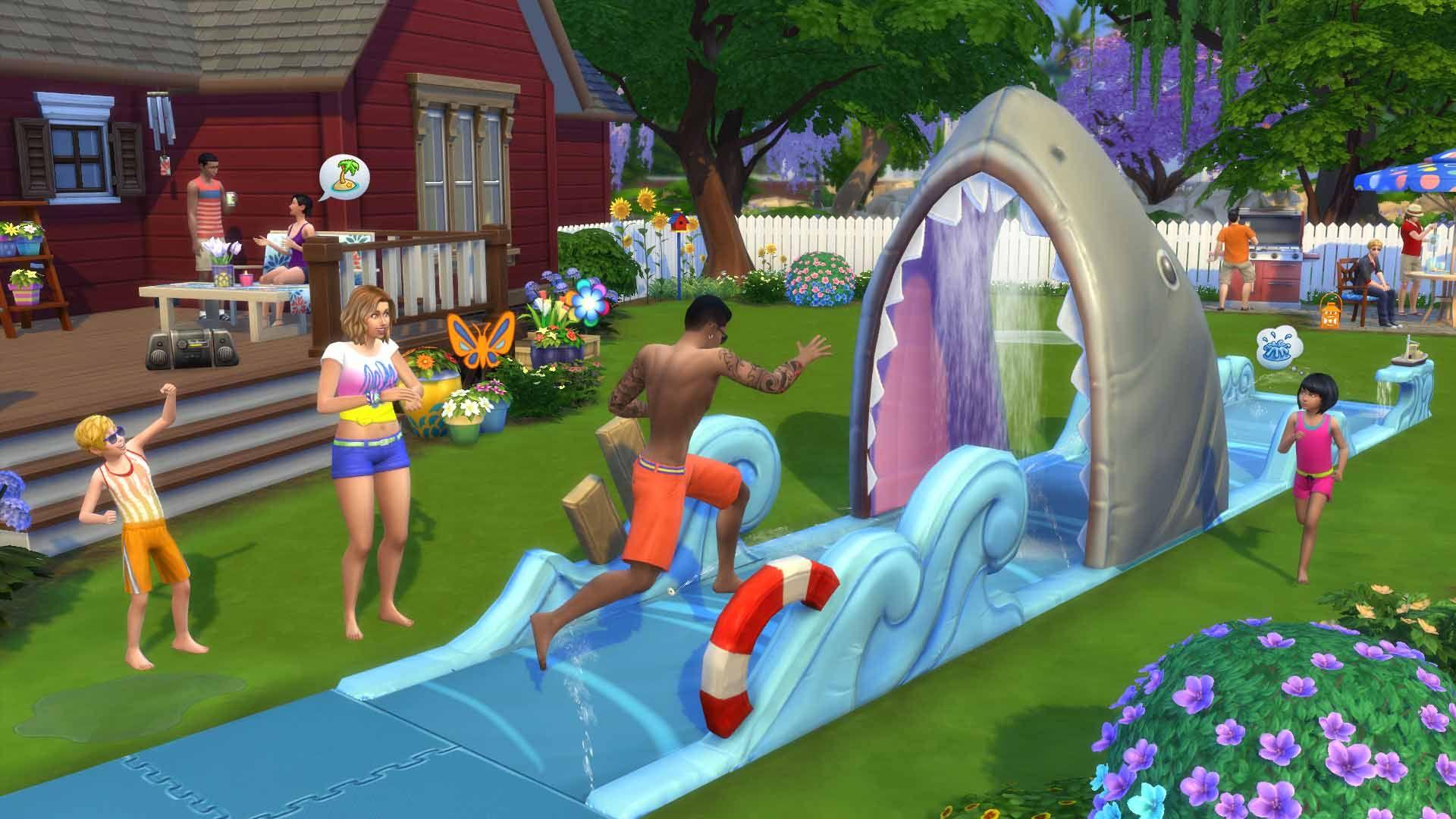 Los Sims™ 4 Diversión en el Patio Pack de Accesorios para ...
