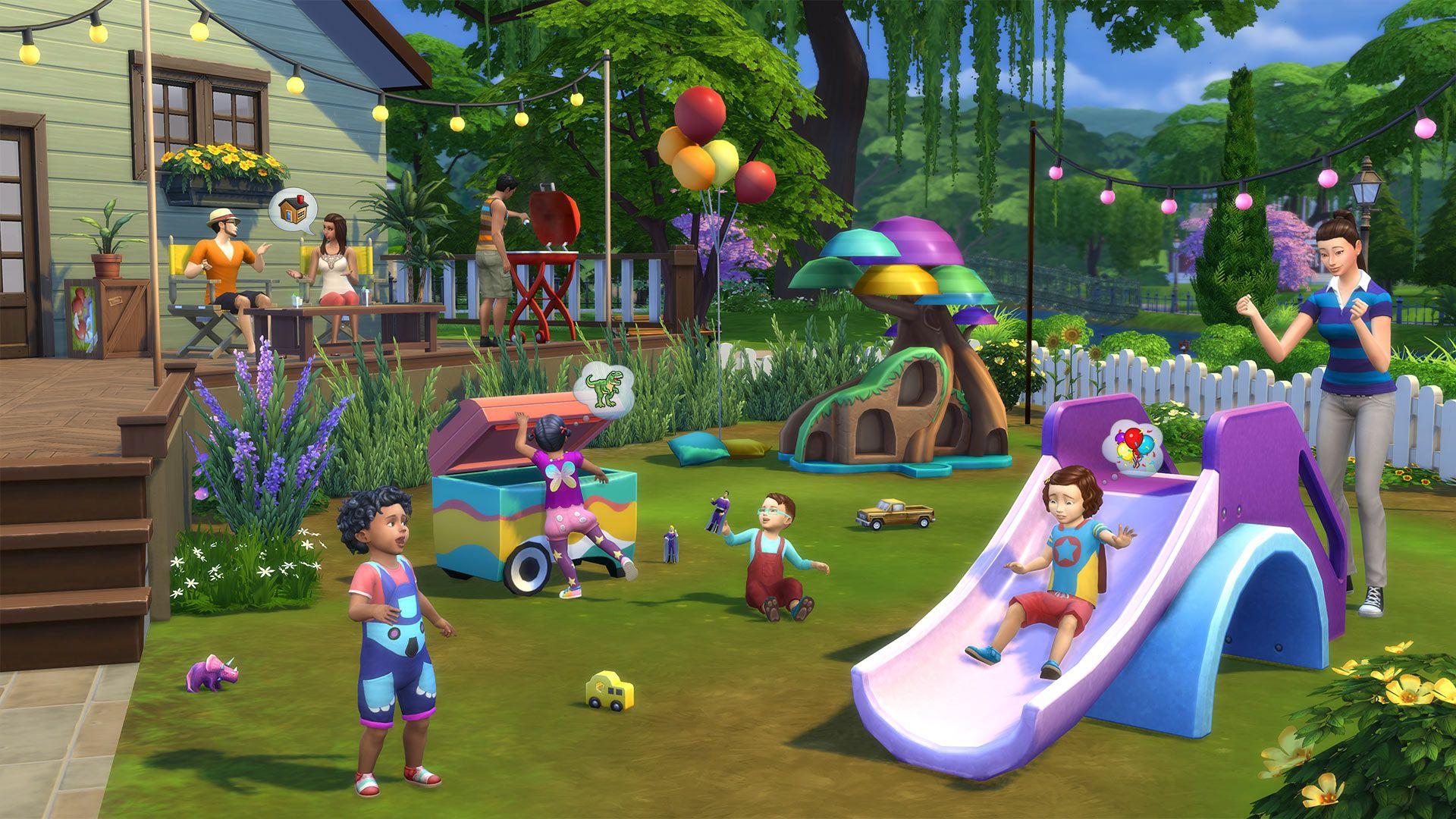 Die Sims 4 Kleinkind Accessoires Für Pcmac Origin