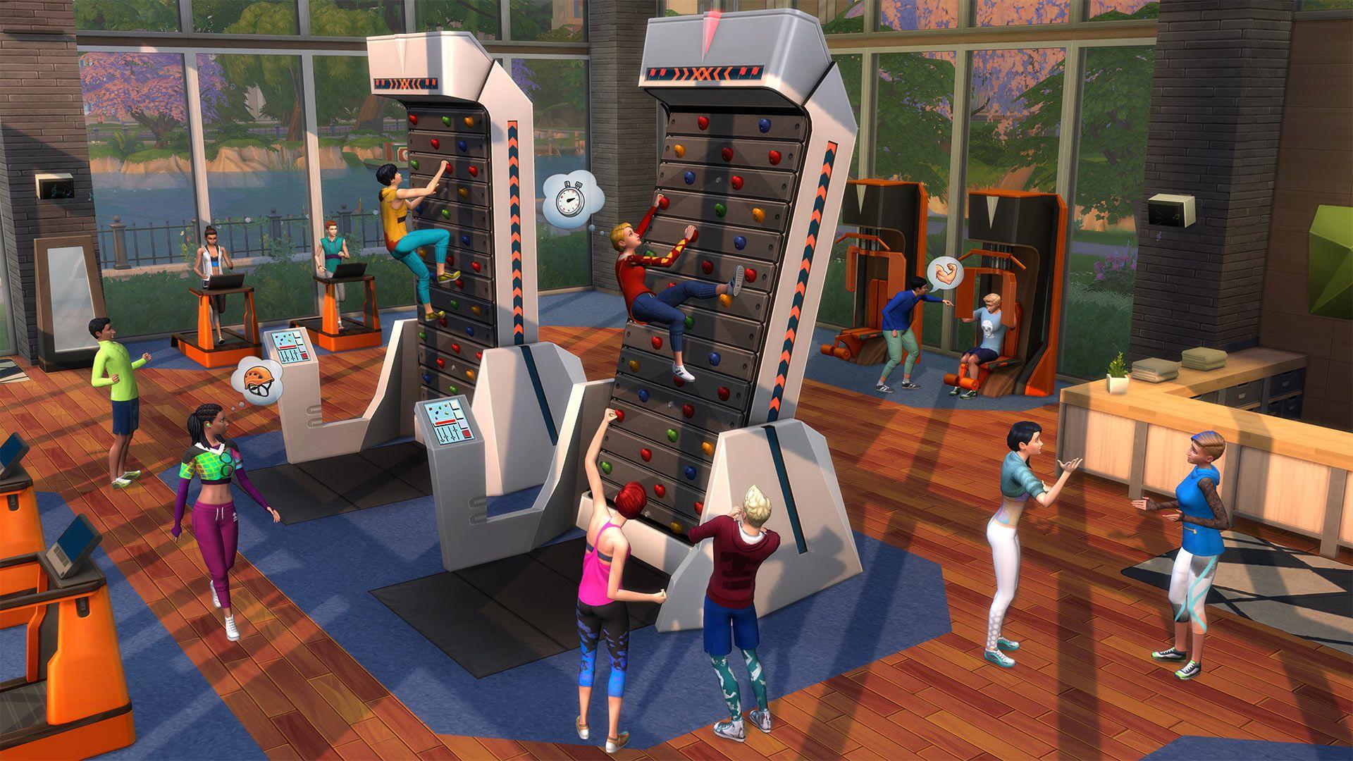 Die Sims 4 Fitness Accessoires Für Pcmac Origin