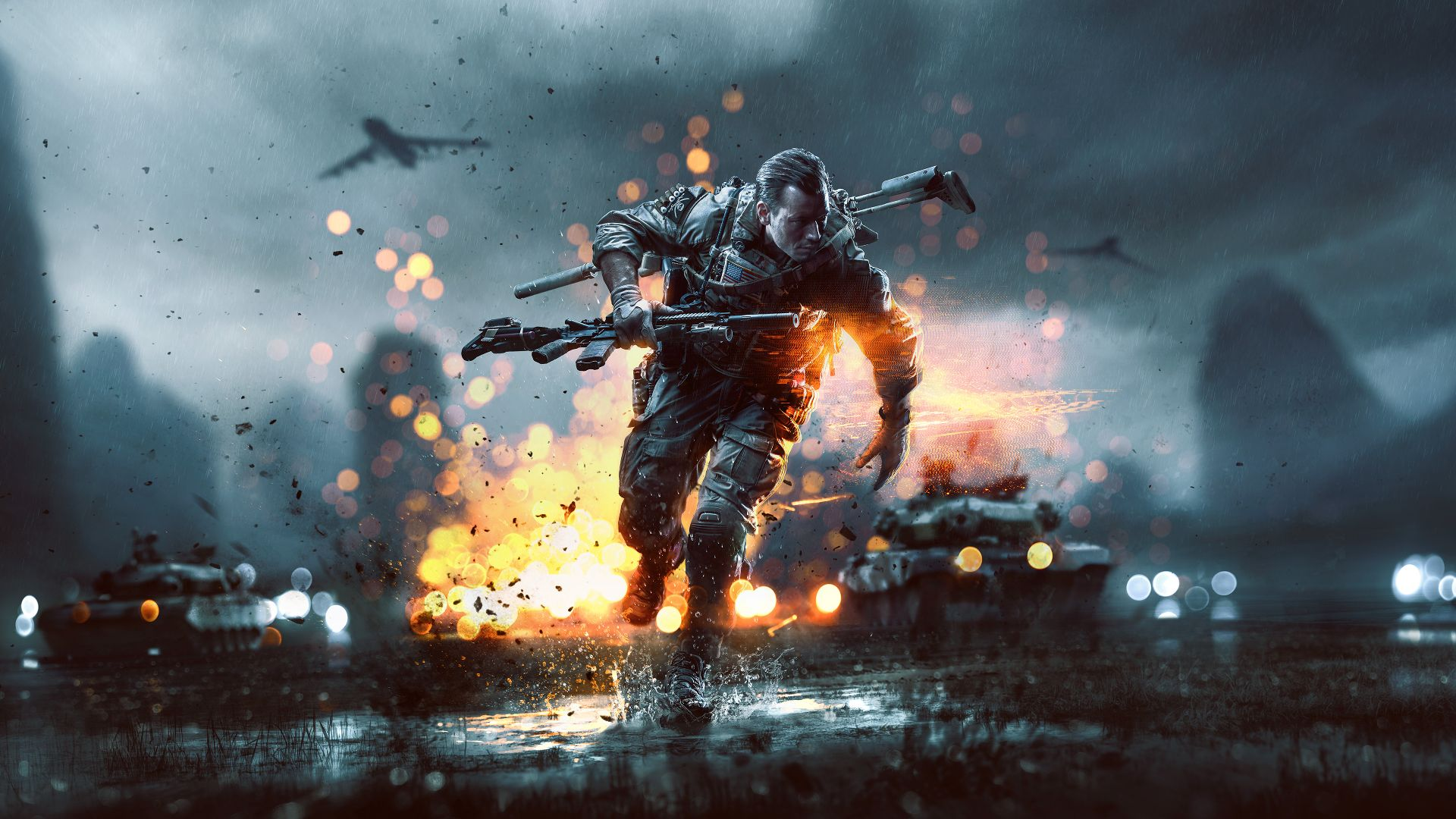 Download Wallpaper 1280x1280 Battlefield 4 Game Ea: Battlefield 4™ China Rising For PC